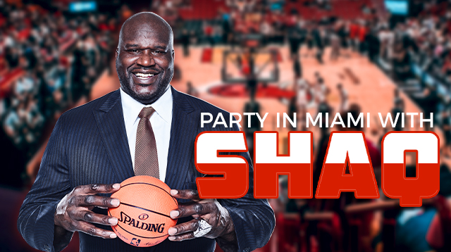 Win a Trip to Miami to Party with Shaq for the Big Game