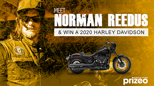 Meet Norman Reedus and Win a 2020 Harley-Davidson Low Rider S