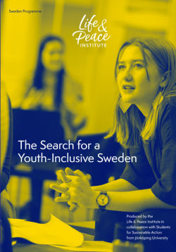 The Search for a Youth-Inclusive Sweden front cover