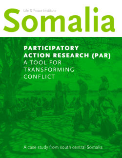 Participatory Action Research (PAR): A Tool for Transforming Conflict front cover