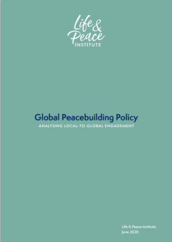 Global Peacebuilding Policy:  front cover