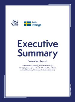 Evaluation Report Executive Summary front cover