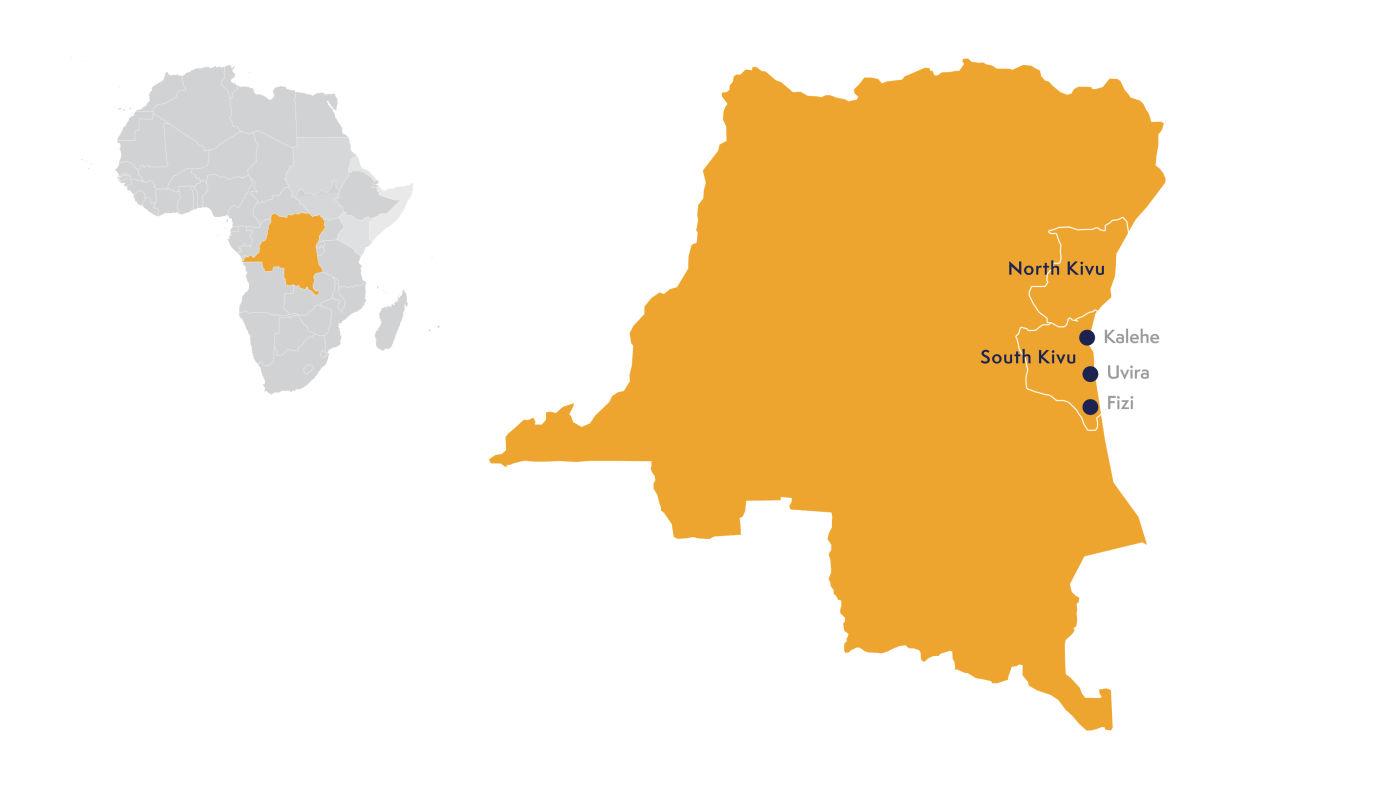 Map DRC