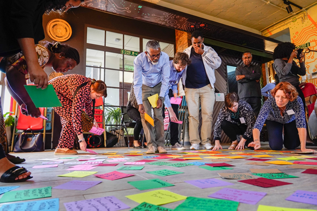 The Inclusive Peace Lab participants came together in November 2019 in Nairobi, Kenya to develop the IPIP pilot programme.