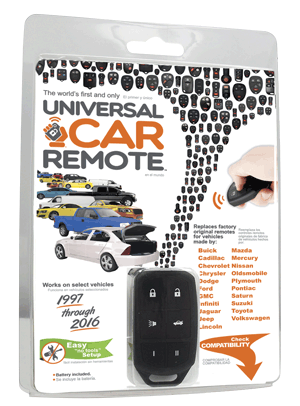 iKeyless.com Launches World's 1st Universal Car Remote