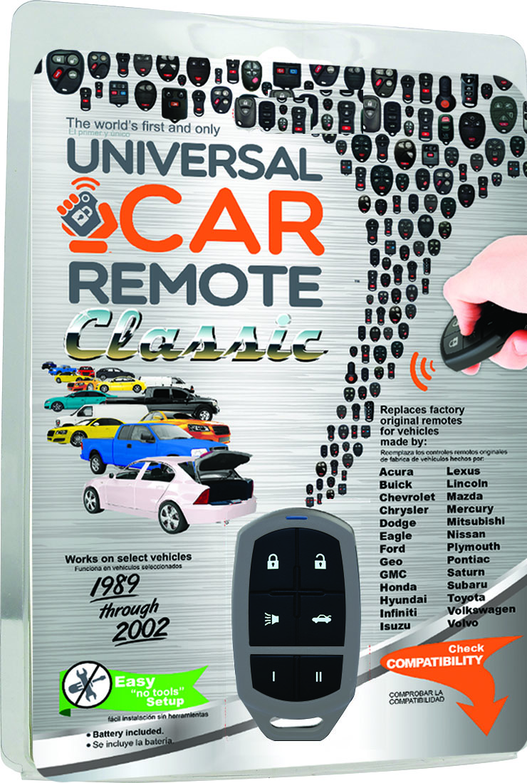 Solid Keys USA announces release of the Universal Car Remote Classic