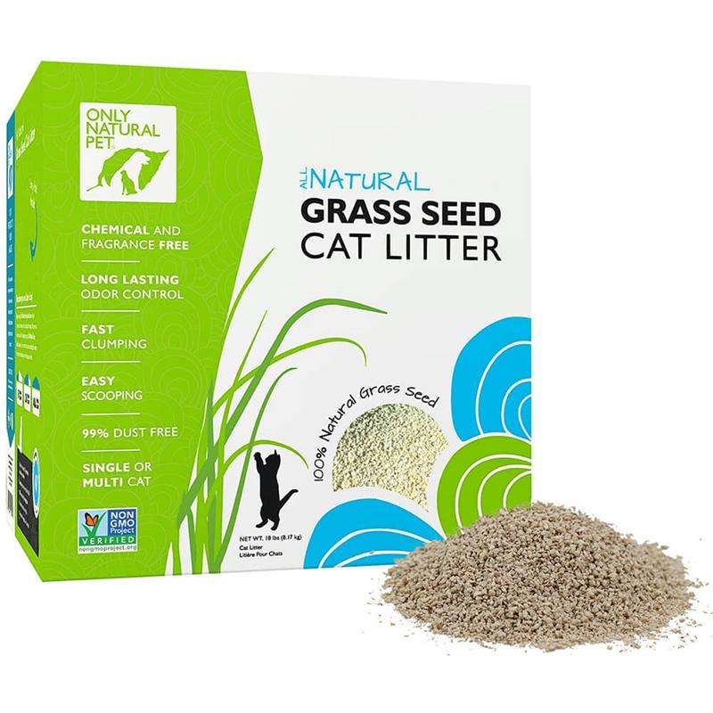 Safe Cat Litter Choices – Only Natural Pet