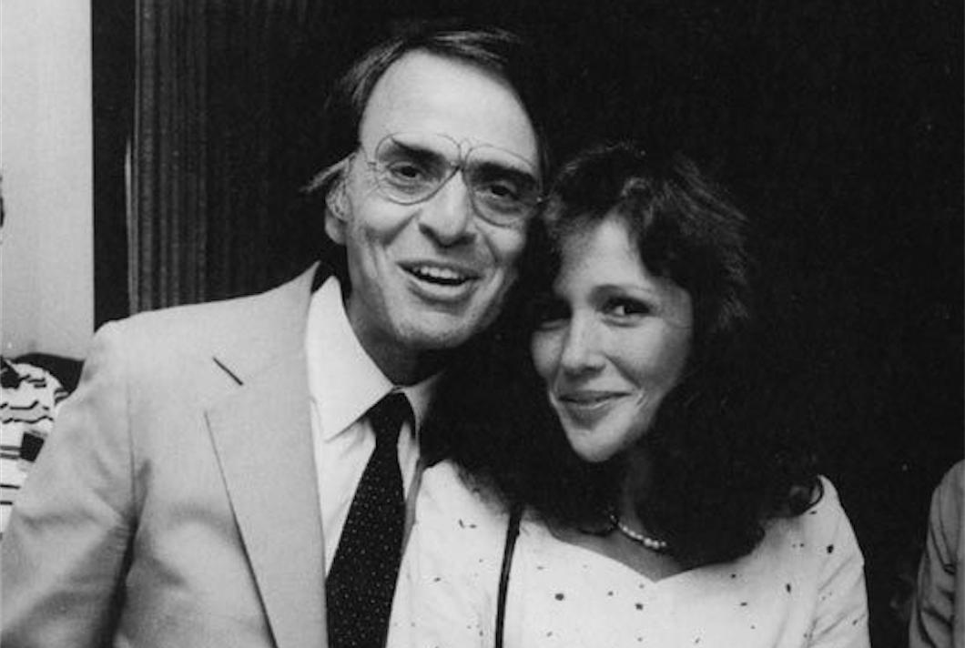Carl Sagan and Ann Druyan