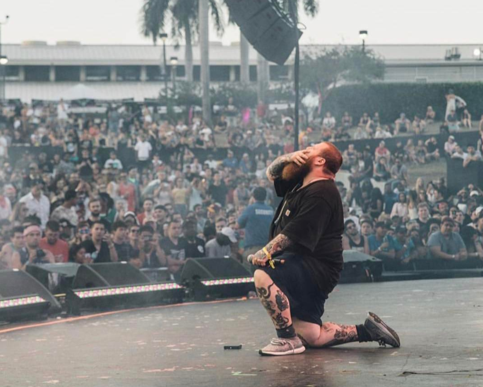 Action Bronson on stage