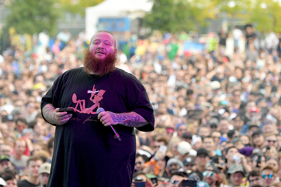 Action Bronson live with Lightpad Block
