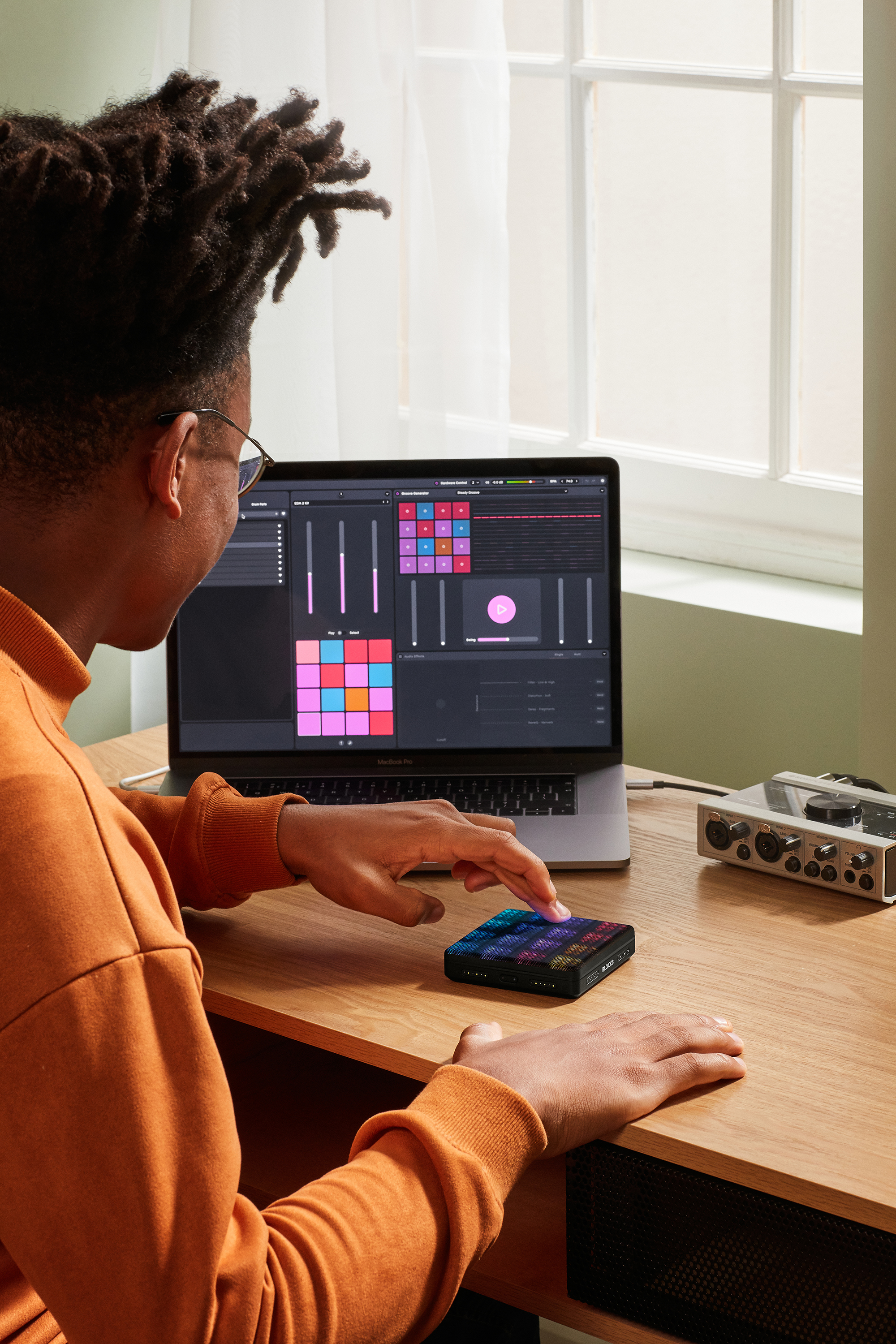 ROLI Studio Editions x Lightpad Block blog image