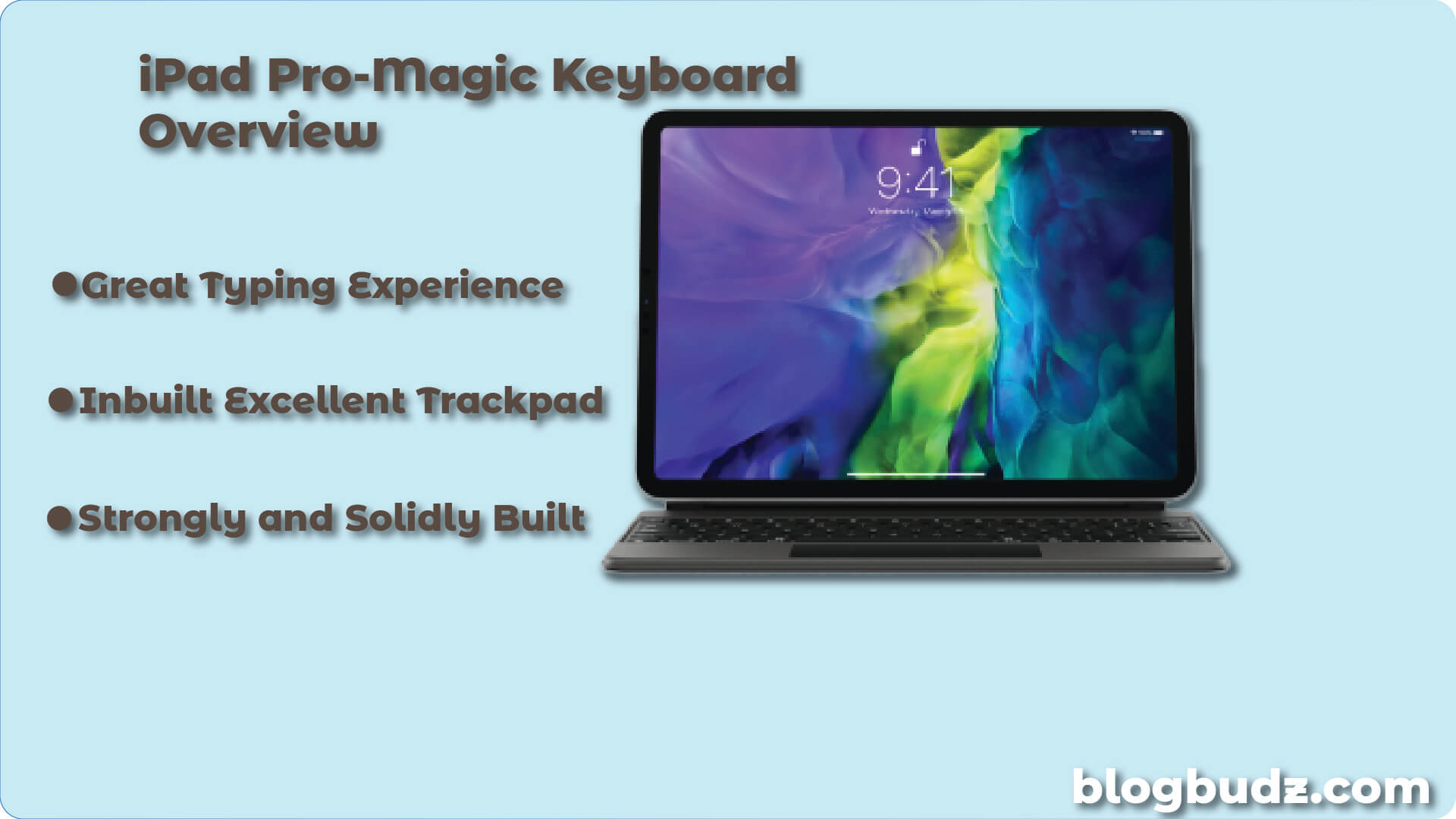 overview of magic keyboard for iPad pro
