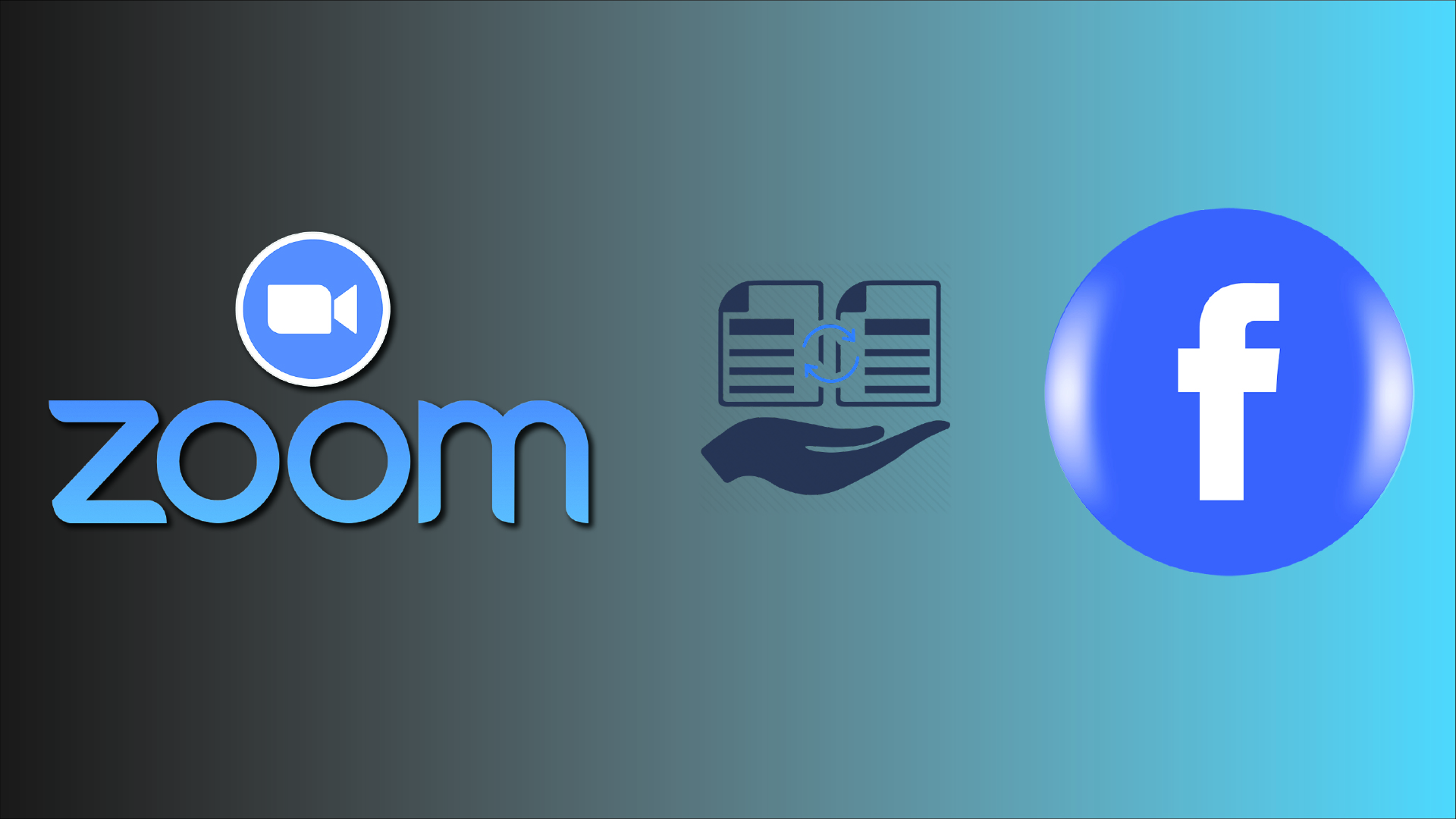 Zoom sends data to fb