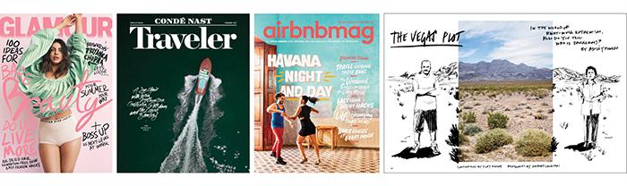 Magazine design trends juxtaposition