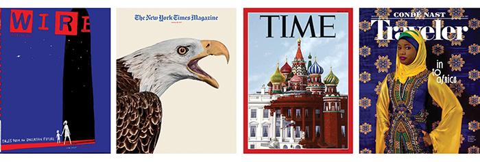Magazine cover design trends