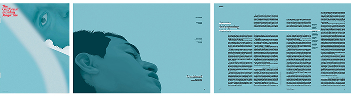 Magazine design trends minimalism
