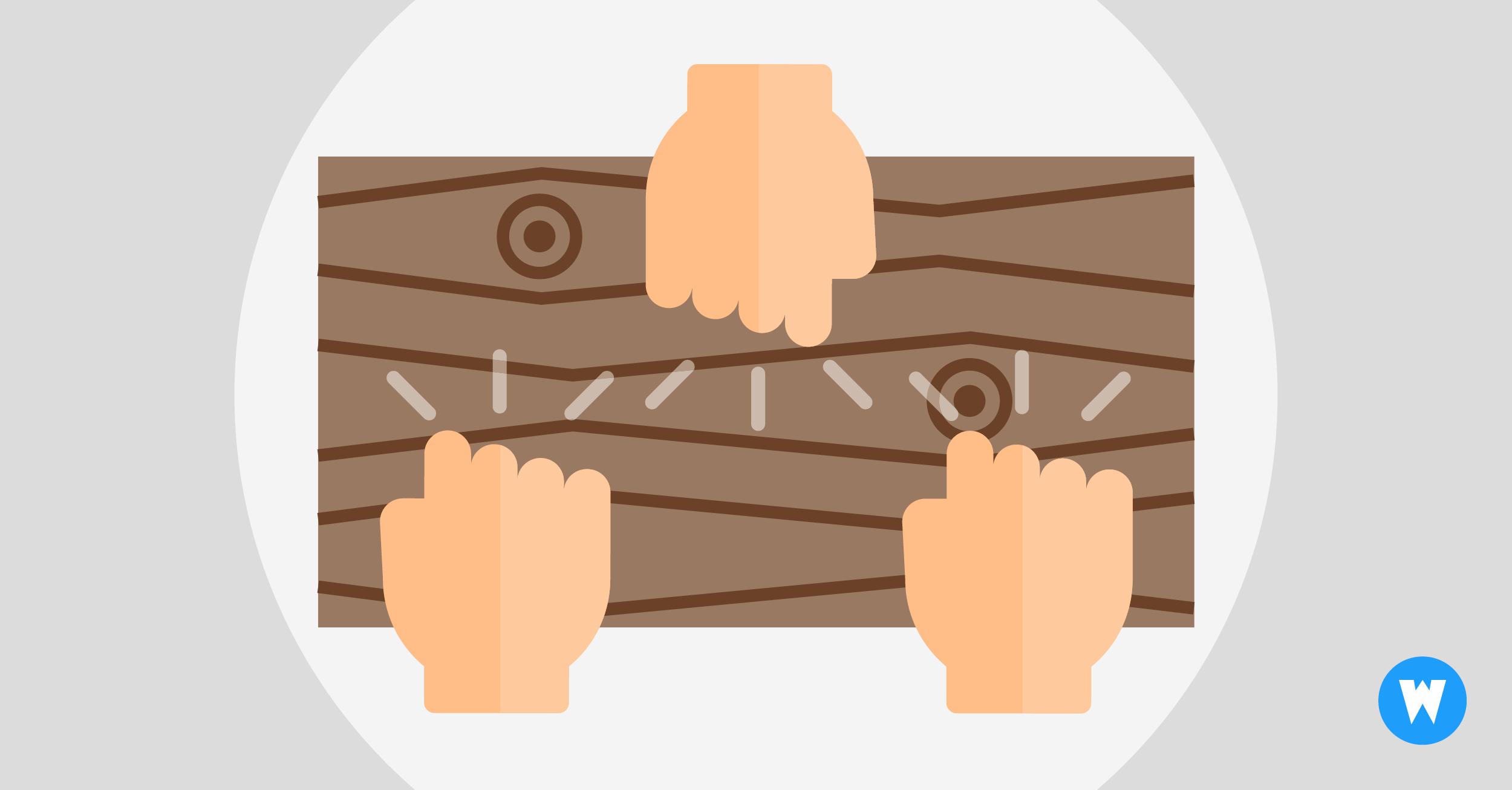 Dreimal Auf Holz Klopfen
