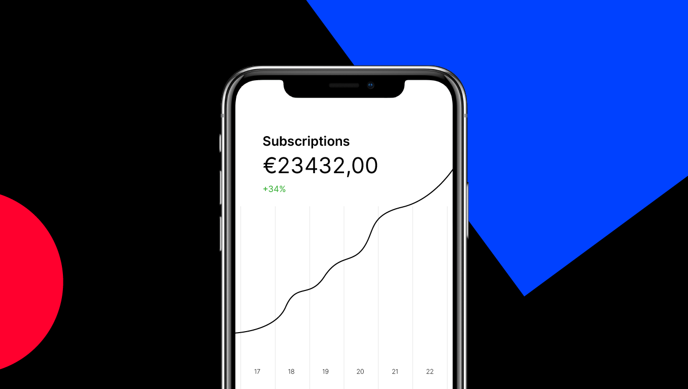 Your product as a subscription: everything's arranged with Mollie Subscriptions