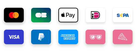 Mollie payment method icons