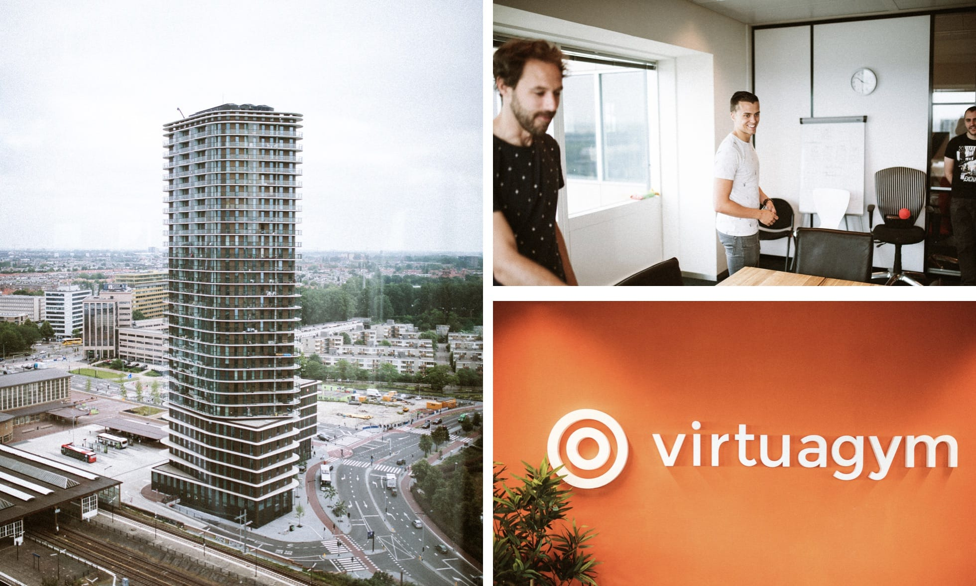 Sports and health are in Virtuagym's DNA, and that's clear if you look at their Amsterdam office.