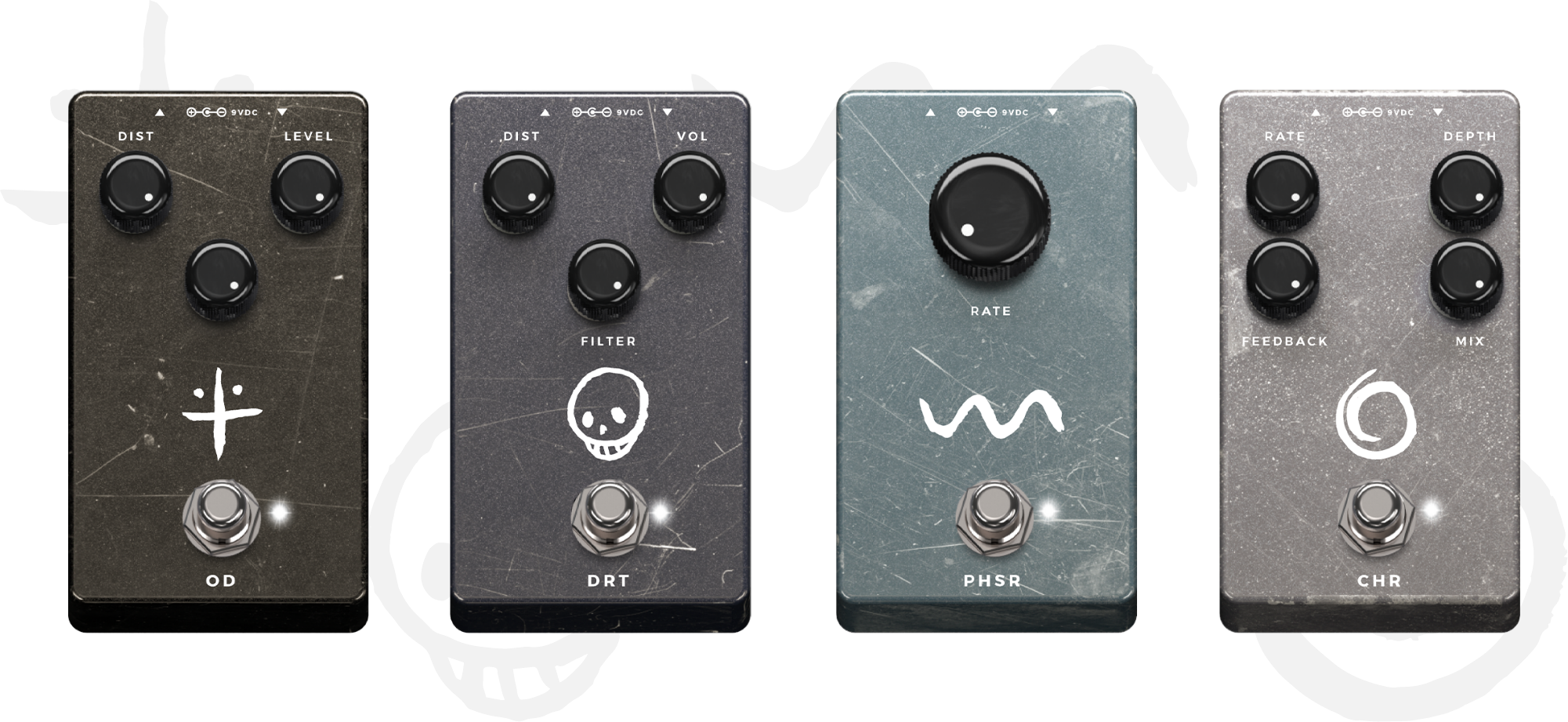 Gojira > Pre effects > pedals