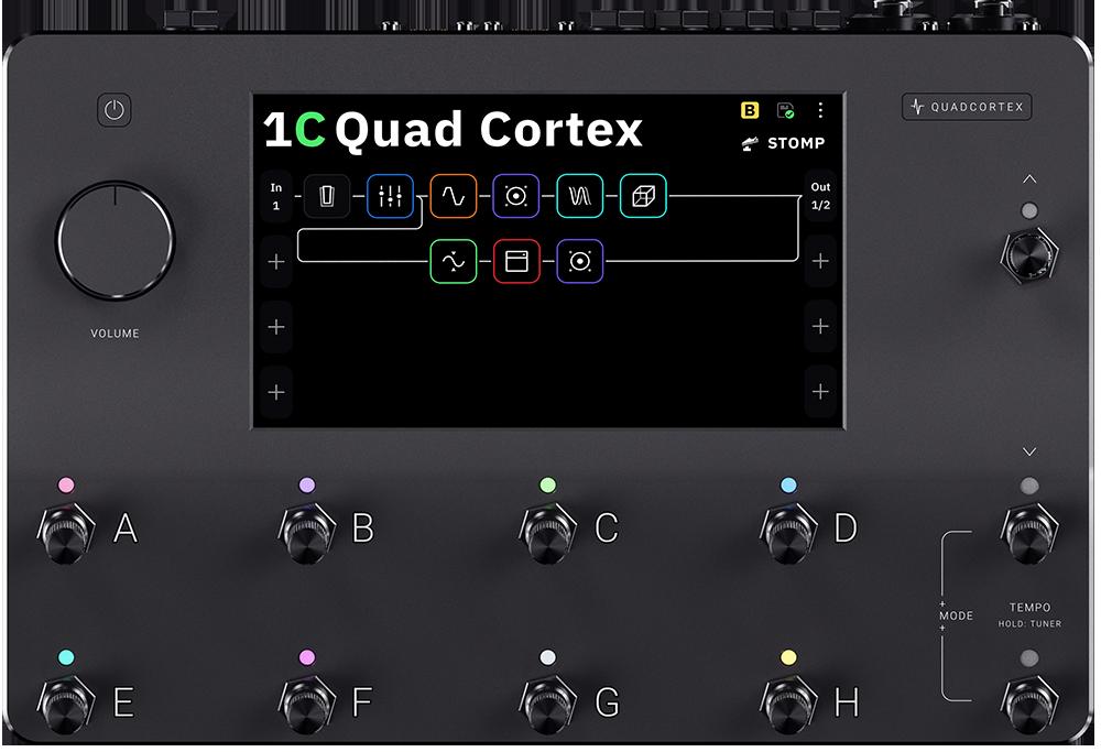 Quad Cortex Tech Specs