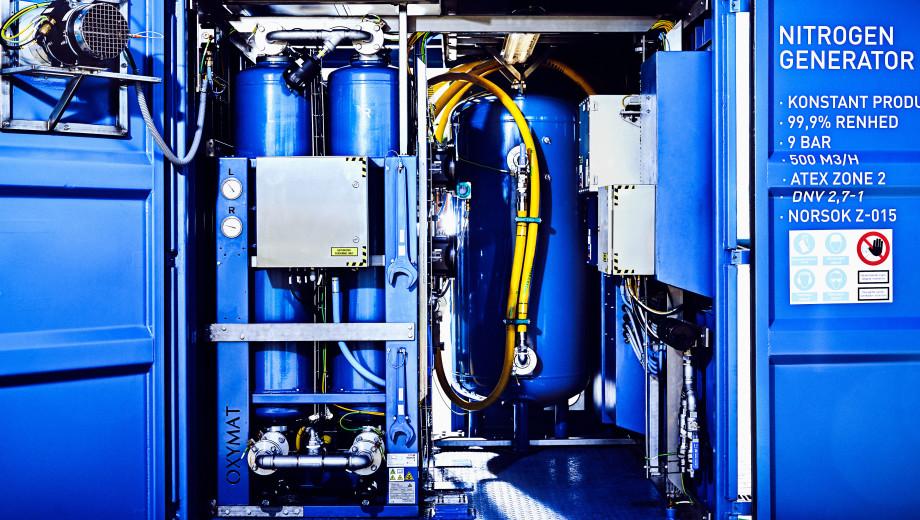 Billede af nitrogen generator