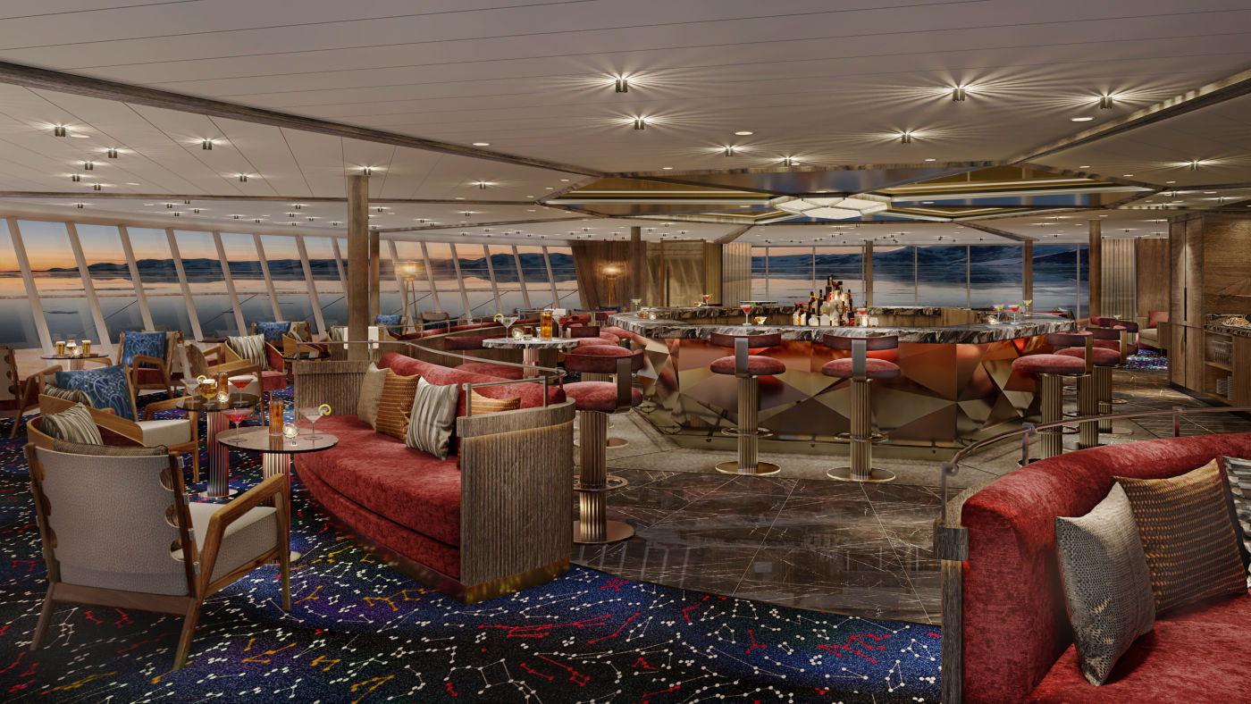 Seabourn expedition ships - Constellation Lounge