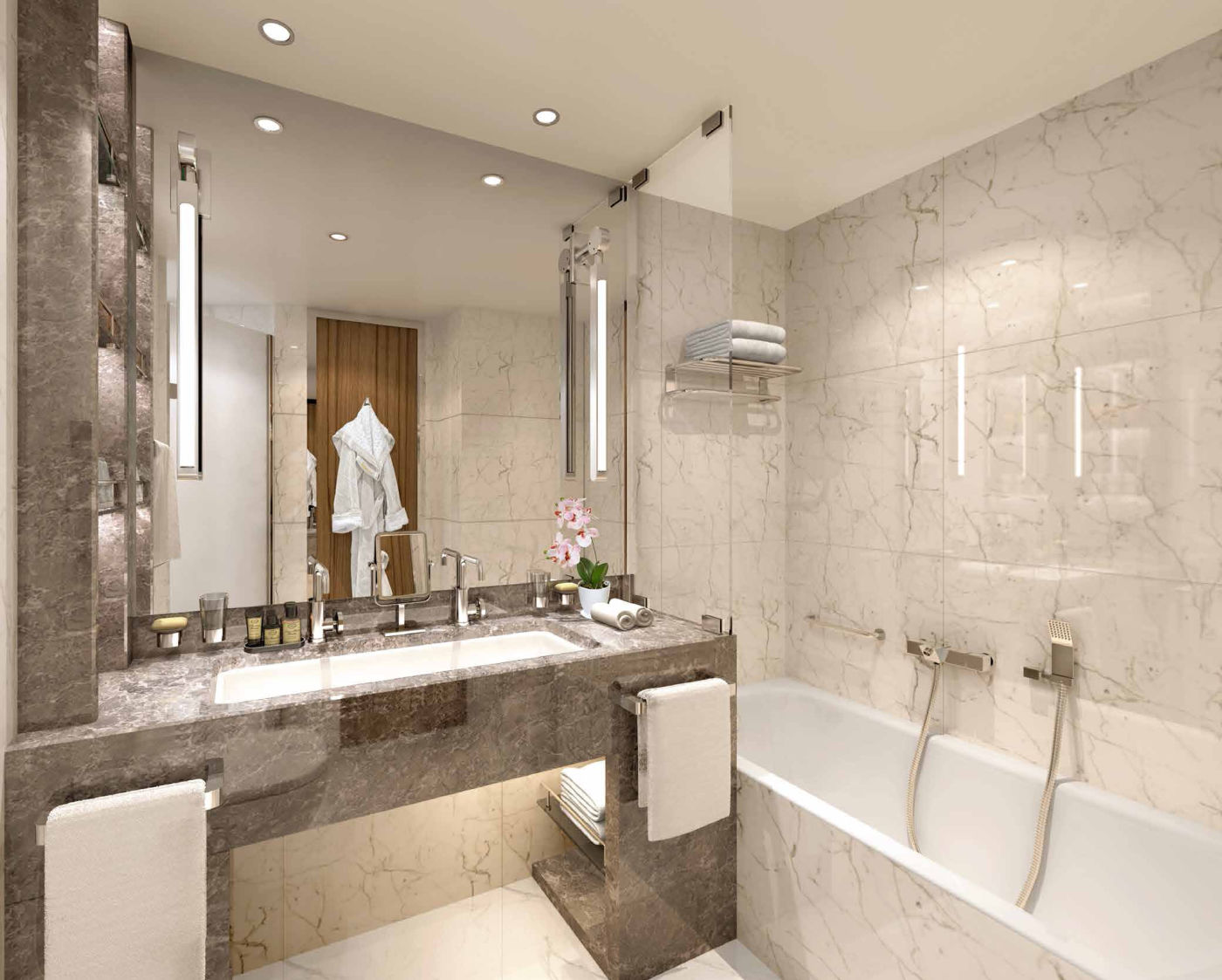 Veranda Suite rendering (bathroom)