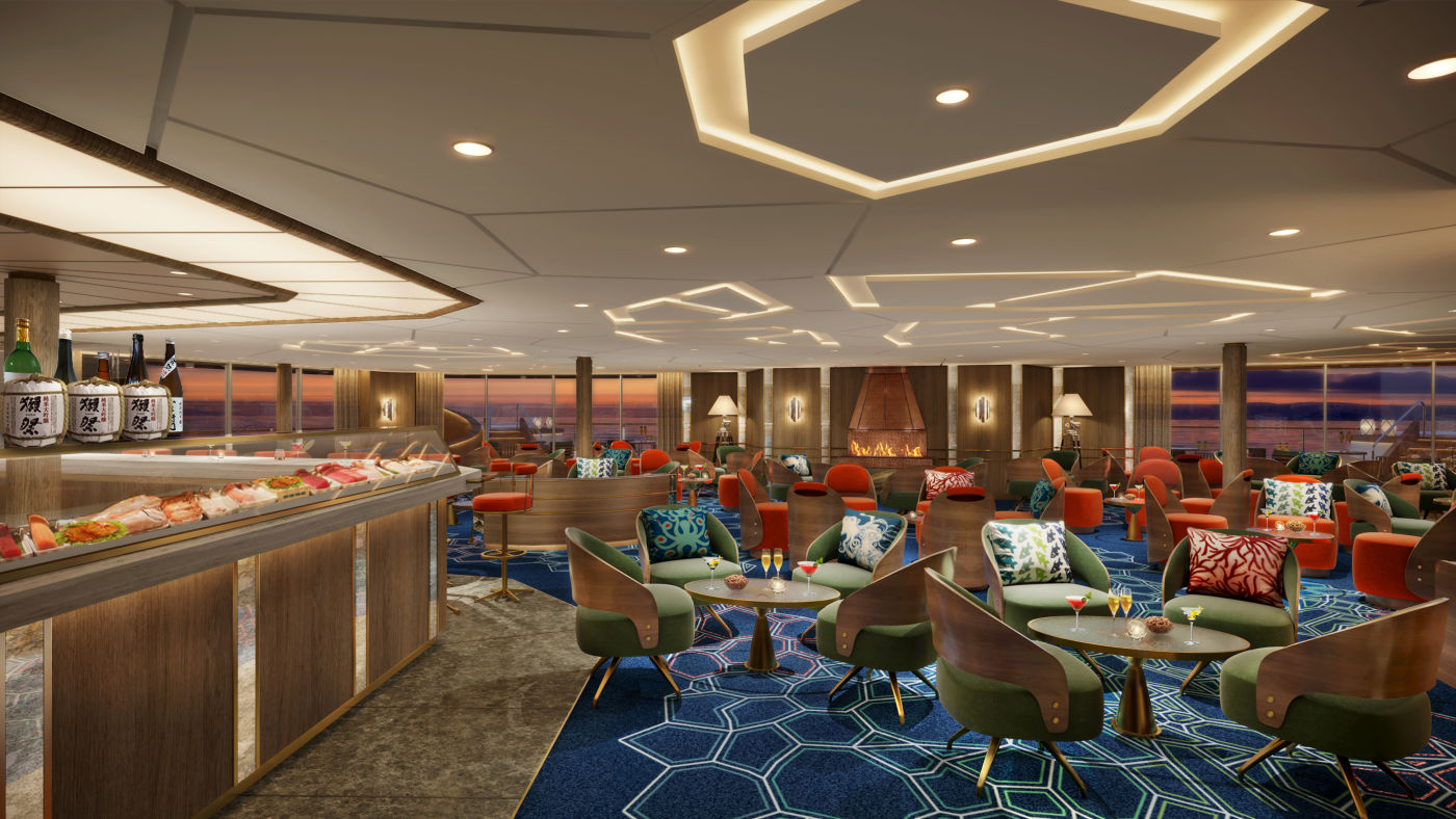 Seabourn expedition ships - The Club