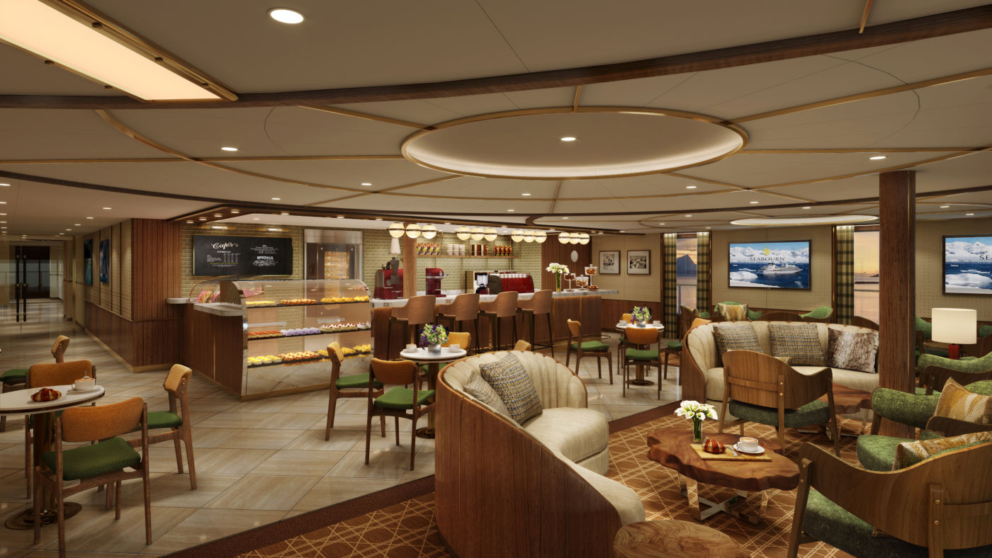 Seabourn expedition ships - Seabourn Square cafe