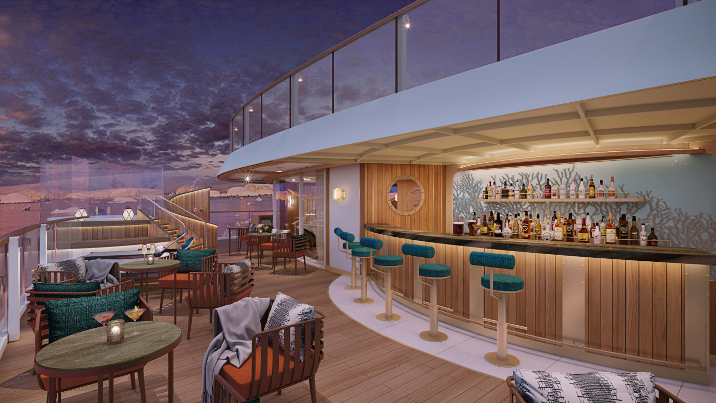 Seabourn expedition ships - Sky Bar