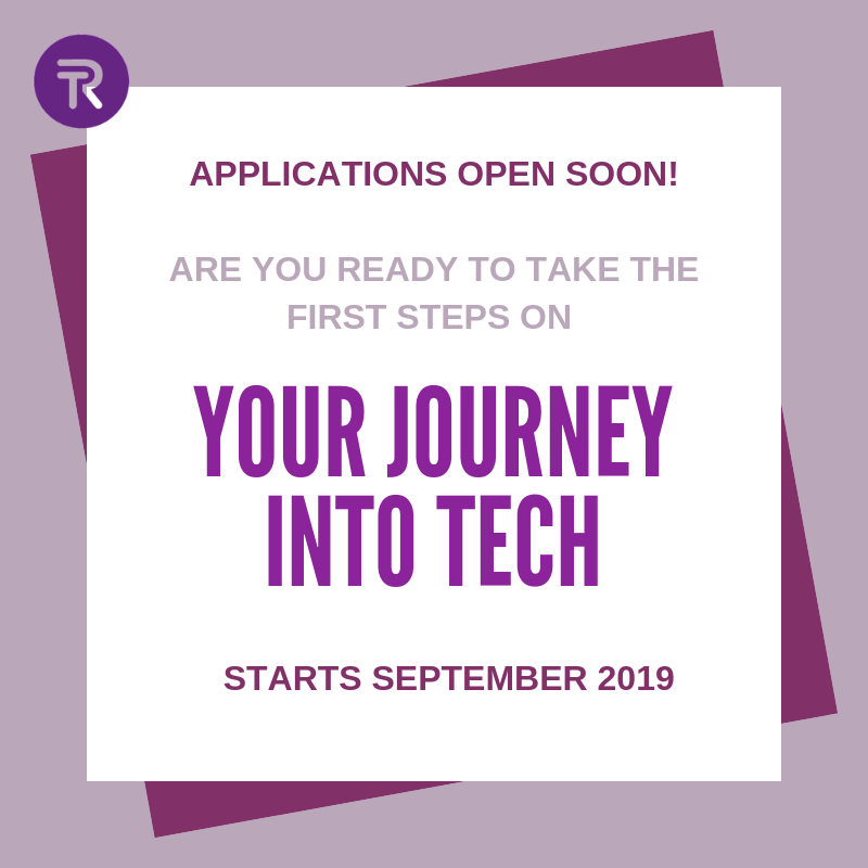 Your Journey Into Tech: Applications Open Now!