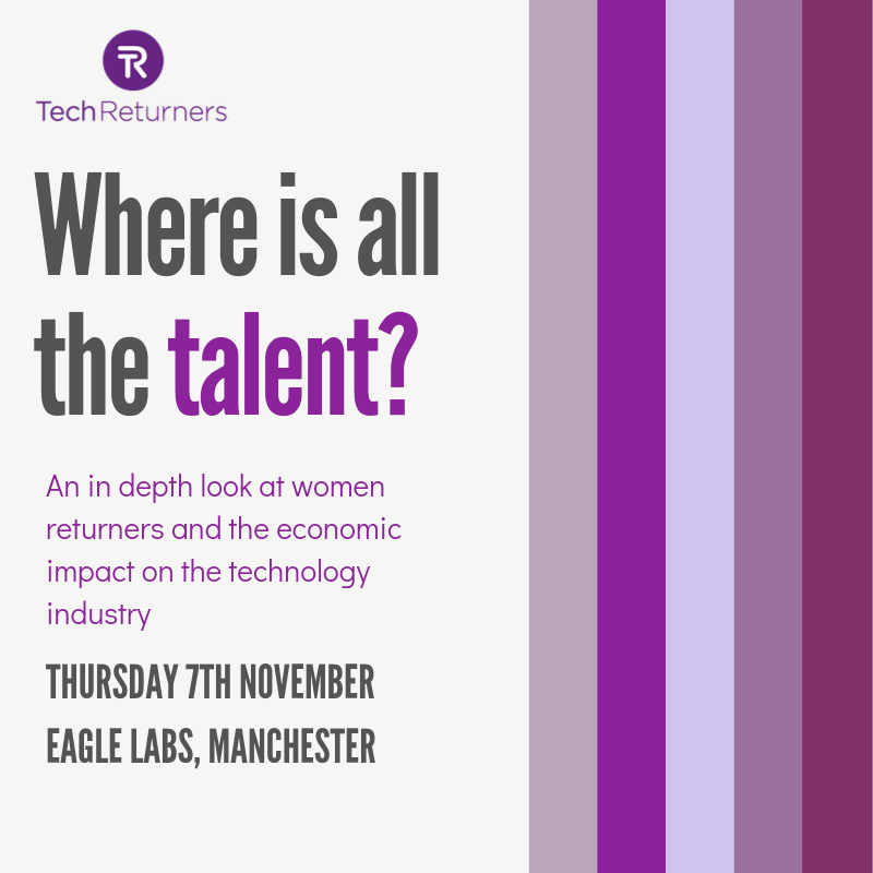 EVENT: Where is all the talent? Thursday 7th November 2019