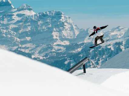 Leysin Snowpark Snowboard - Winter - Kifcat