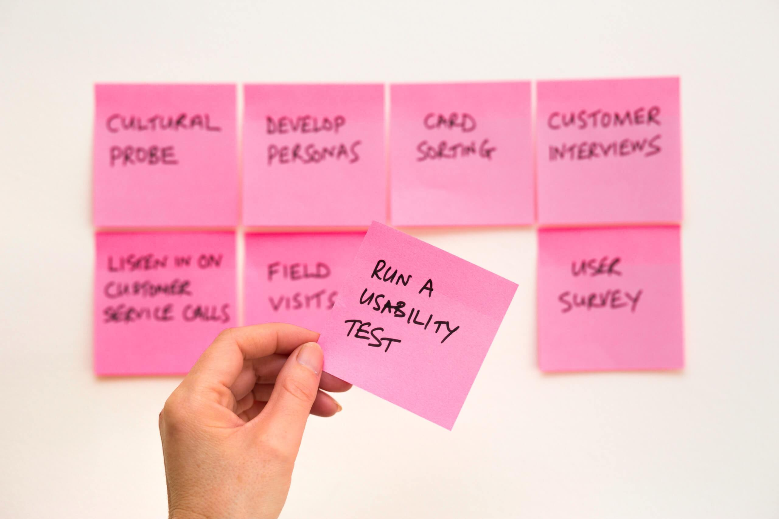 The Post-it, a UX designer's best friend.