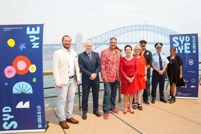 NYE19 launch. Image Katherine Griffiths, City of Sydney