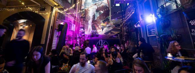 YCK Laneways Night Over Light for Sydney Solstice