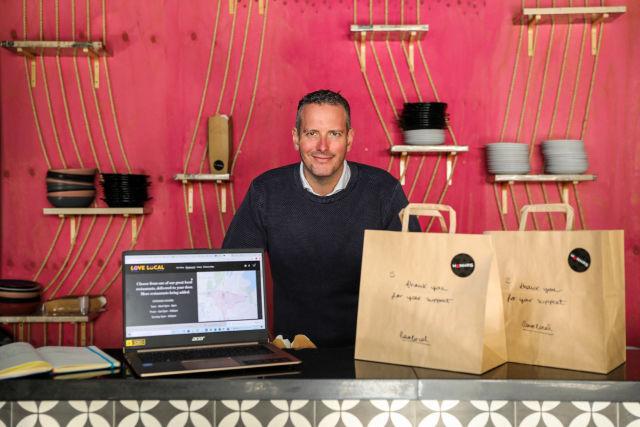 Hamilton Kings desenvolveu alternativa de entrega de alimentos Love Local, graças à ajuda de emergência Covid-19 da cidade