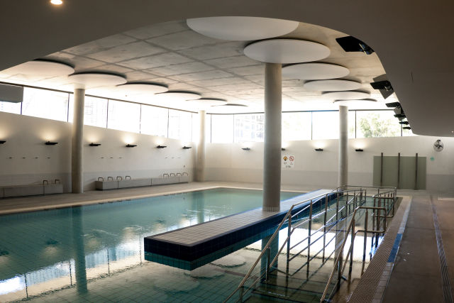 Hydrotherapy pool.  Credit: Chris Southwood / City of Sydney.