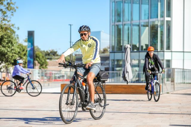 Green Square cycling course