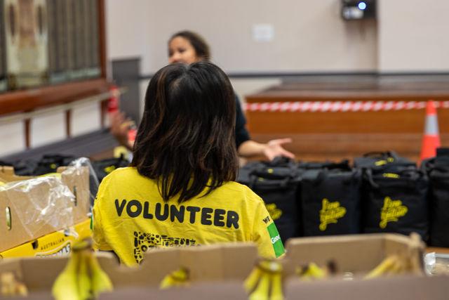 OzHarvest volunteer