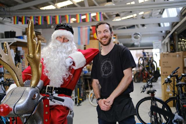 Chris Moore van Omafiets Dutch Bicycles.  Afbeelding: Chris Southwood / City of Sydney