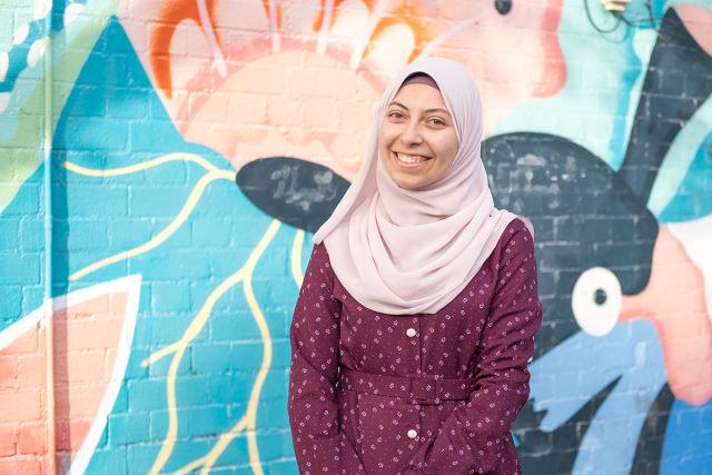 Refugee Week 2021 - Band Together speaker, Roaa Ahmed