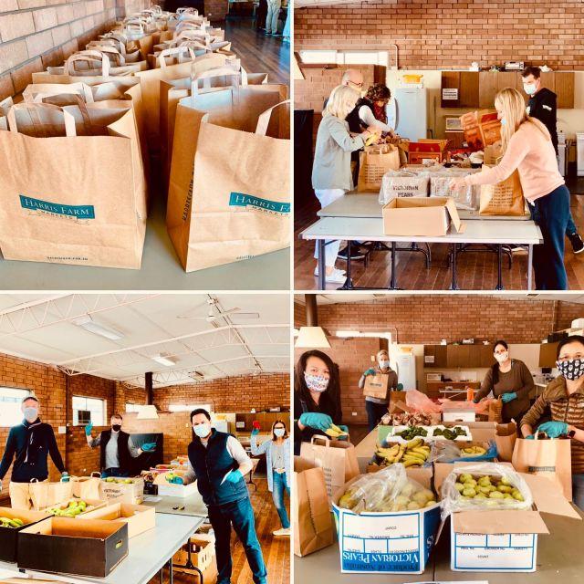 Viral Kindness volunteers