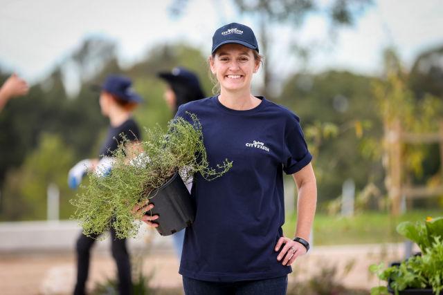 Belinda Thackeray at Sydney City Farm