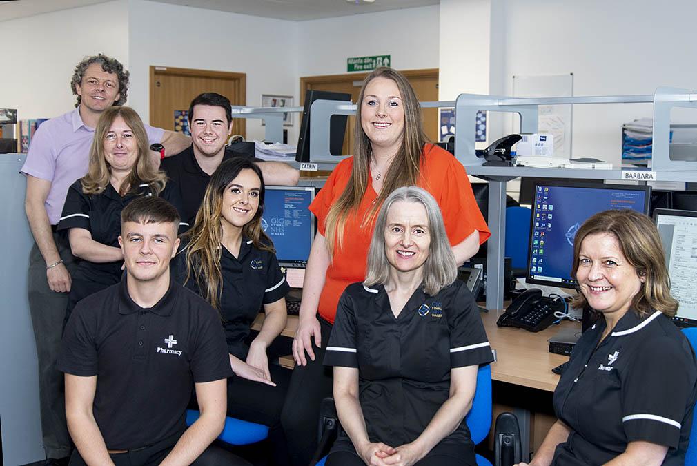 Swansea Bay University Health Board team