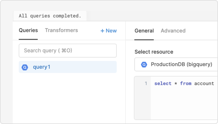 Connect to BigQuery in minutes