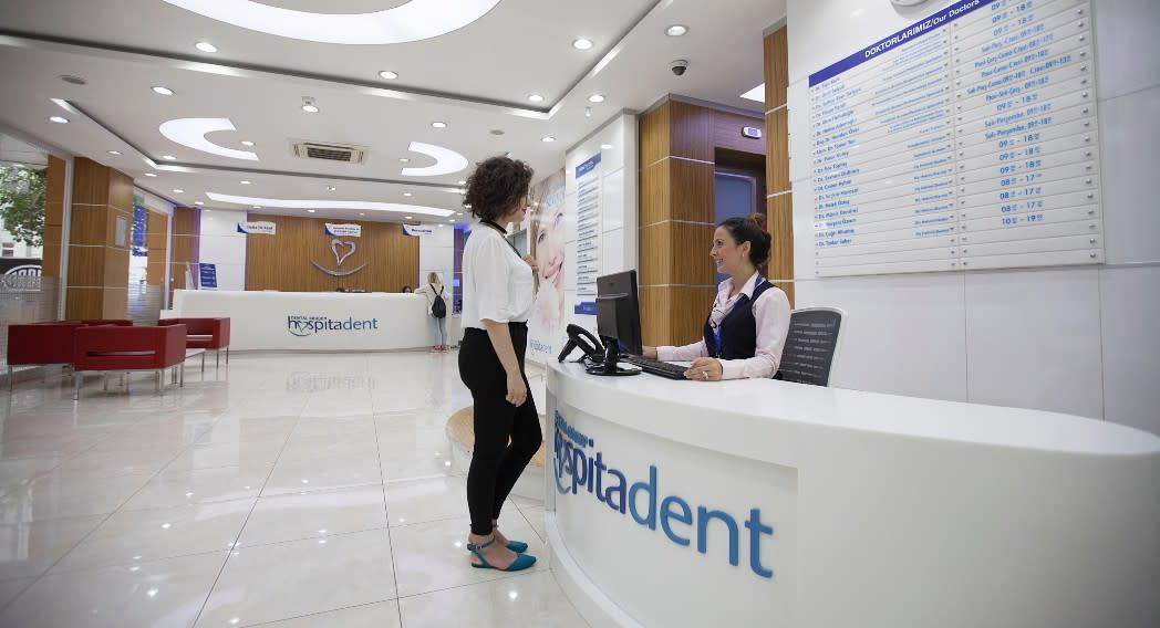 Hospitadent Mecidiyekoy dental clinic in Istanbul, Turkey