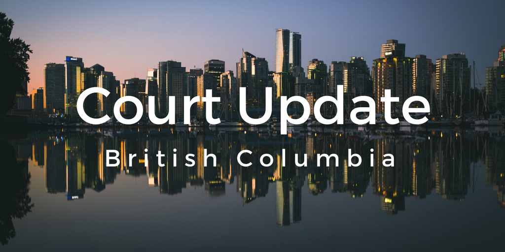 B.C. Court of Appeal on Support Obligations